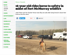 Metro News' coverage of the Fort McMurray wildfires got the paper its first National Newspaper Award nomination.